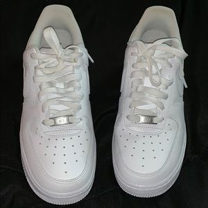 Nike Air Force ones.